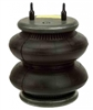 "Firestone 224C 2600lbs 1/4"" NPT Single Port Air Bag, Air Spring comes with 3/8"" X 1/4"" Reducer Bushing"