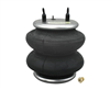 "Firestone 224C 2600lbs 1/4"" Single Port Air Bag with 3/8"" X 1/4"" Reducer Bushing (6872),Sold Each!"