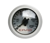 AVS Silver Face Single Needle Gauge 200 PSI Max with Different LED Color Options, sold each!