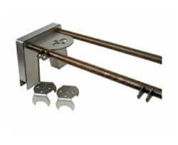 "S10 Truck Bridge Setup with 8"" Notch, 2.75"" Axle Brackets, Shock Tabs and Bridge Plates, sold each!"