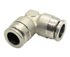 "Nickel Plated Brass 1/2"" PTC Union Elbow"