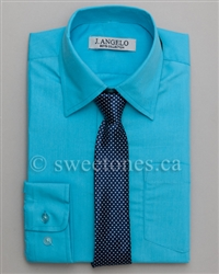Boy dress shirt & tie set