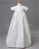 Silk Christening heirloom gown
