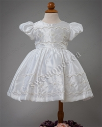 Silk Christening Gown Christening Dress