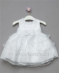 White baby Baptism Christening dress
