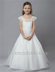 Organza first communion A line dresses – Style FC-Cameron