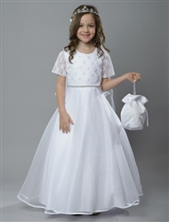Lace flower girl dress – Style FC-Kate
