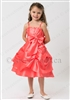 red bubble girl party dress