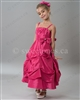 Pink bubble girl party dress