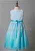 Blue ombre flower girl dress Toronto