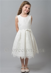 Girls short lace dress– Style FG-April