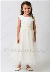 tulle flower girl dress first communion dress