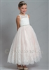 Tulle pink lace dress  – Style FGC-Catherine-PK
