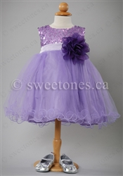 Baby flower girl dress