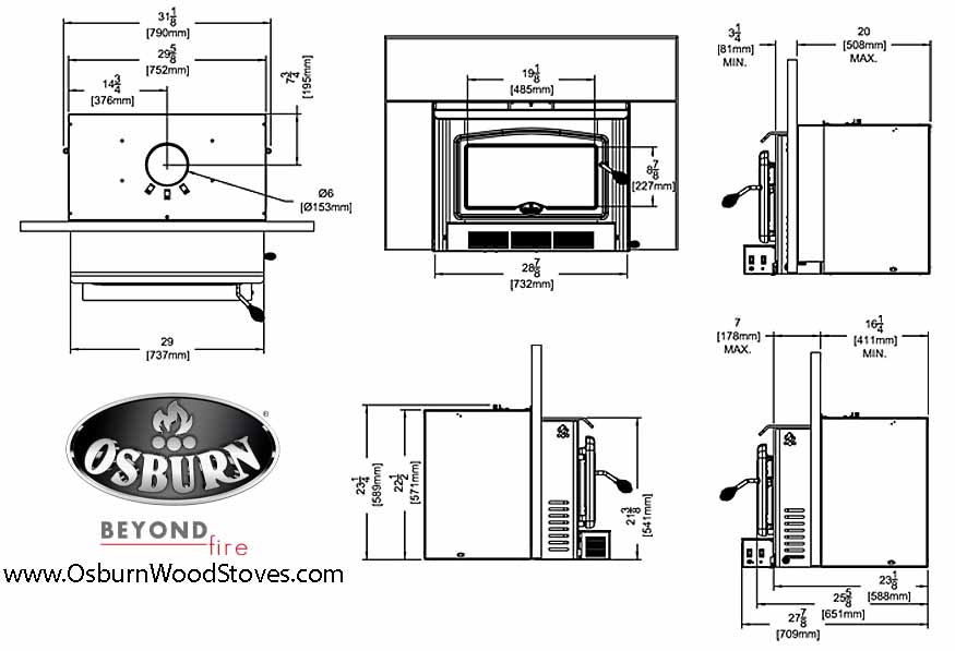 Osburn 2400 ... - Osburn 2400. The Osburn 2400 Fireplace Insert At OsburnWoodStoves.com
