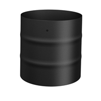 "SP00230 6"" Single wall clay liner adaptor black"