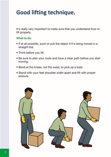 manual handling at work a brief guide indg