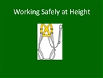 Working Safely at Height - Elearning Module