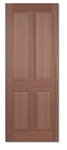Regency 4P Hardwood Interior Door