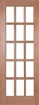 SA15L Hardwood Interior Door