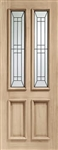 Diamond Oak Exterior Door