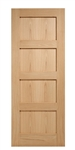 4P Oak Interior Door