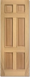 Regency 6P RM Oak Interior Door