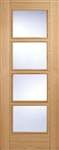 Trend 4L Oak Interior Door