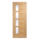 Trend 4LOffset Oak Interior Door