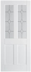 Canterbury 2P Solid White Interior Door