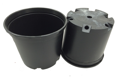 Black Ground Pot - 3 Gallon