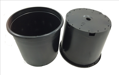 Black Ground Pot - 5 Gallon