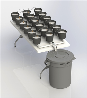 18 Pot Table Garden - Automatic