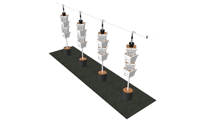 VGK-16XGP Verti-Gro 4 Tower Extension Kit