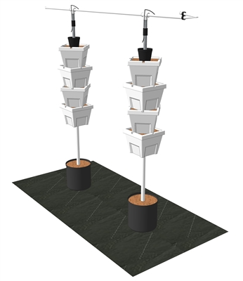 VGK-8XGP Verti-Gro 2 Tower Extension Kit