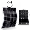 2 pcs of 100W Semi-Flexible Solar Panels