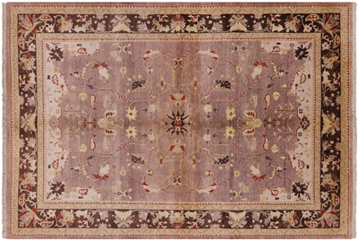 Hand Knotted Peshawar Wool Area Rug