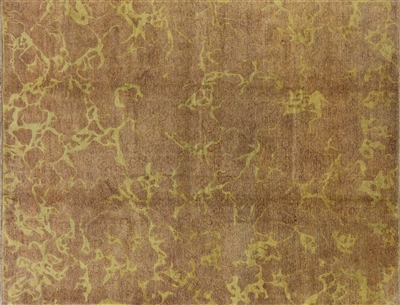 Brown Gabbeh Hand Knotted Wool Rug