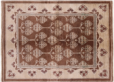 Peshawar Hand Knotted Wool Oriental Area Rug