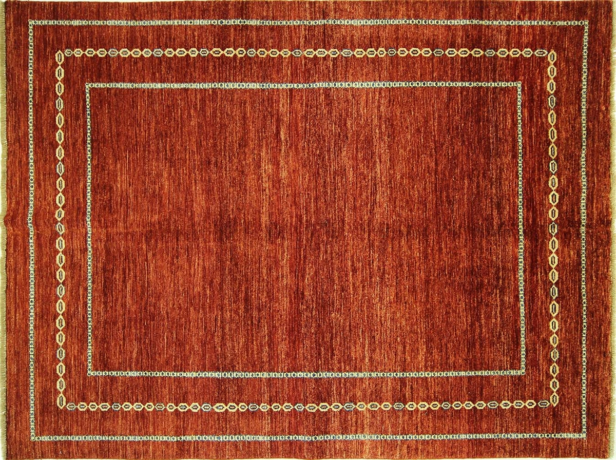 Gabbeh Area Rugs. Red Gabbeh Hand Knotted Wool Rug