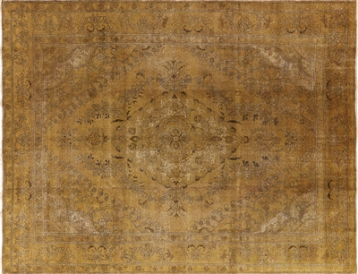 Persian Orential Overdyed Hand Knotted Wool Area Rug