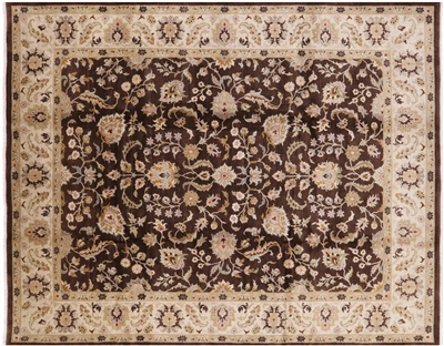 Oriental Peshawar Hand Knotted Wool Area Rug
