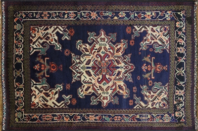 Wool on Wool Persian Oriental Handmade Rug