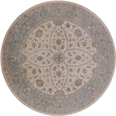 Hand Knotted Persian Round Area Rug