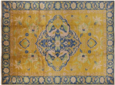 Modern Hand Knotted Persian Area Rug