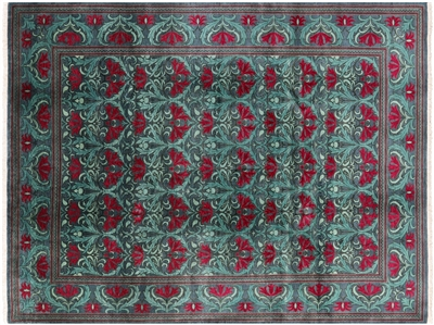 Hand Knotted Oriental Morris Collection Area Rug
