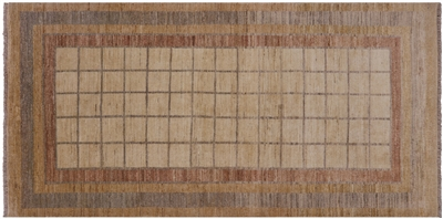 Oriental Hand Knotted Gabbeh Rug