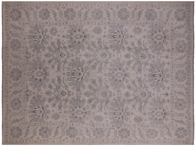 Persian White Wash Hand Knotted Area Rug