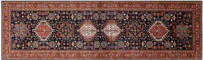 Fine Serapi Hand Knotted Oriental Rug