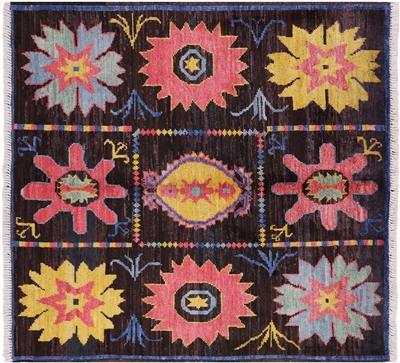 Square Oriental Arts and Crafts Rug